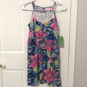 Lilly Pulitzer Kinley Dress Girls XL